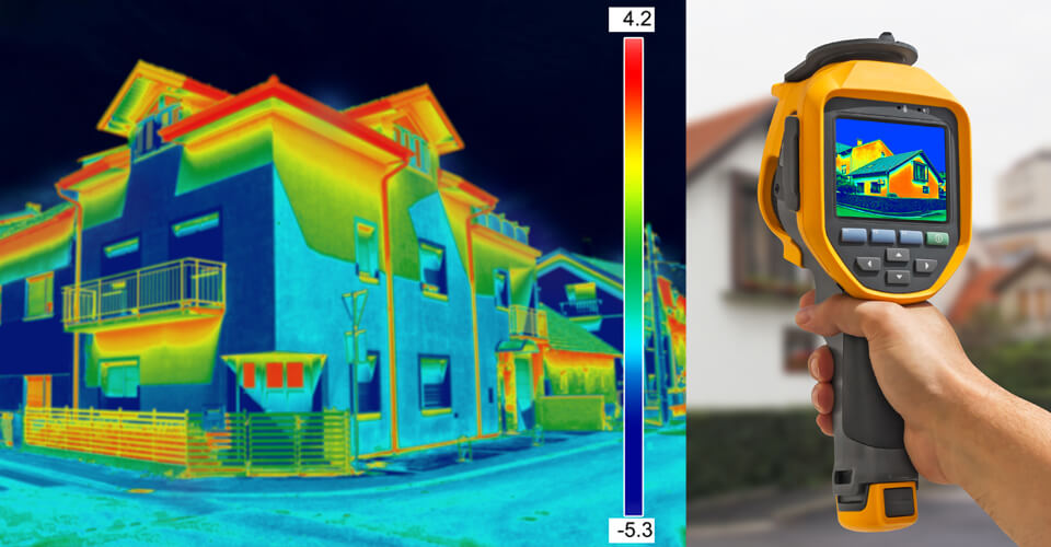 Thermal imaging through Sound Advice