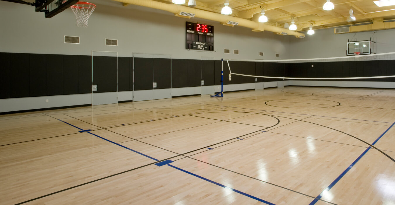 Sports halls and noise abatement